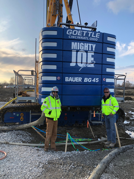 left: Gordian Ulrich, ECA – right: Brent Burman, Goettle Inc.